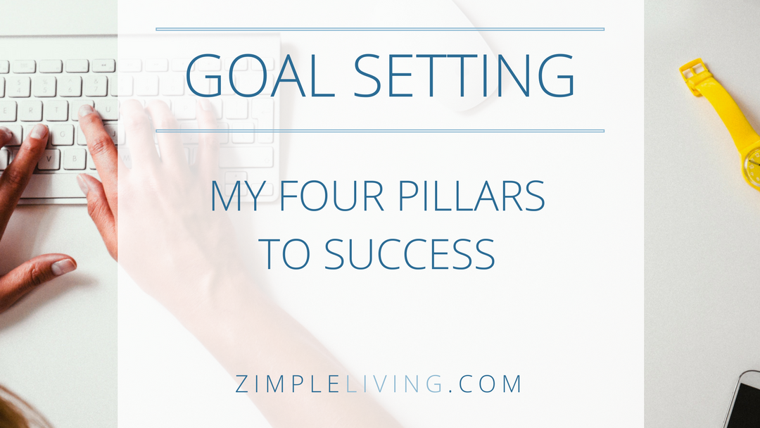 When Goal Setting, Stick to These Four Pillars